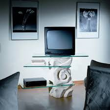tv möbel aus stein und kristall in modernem design agape