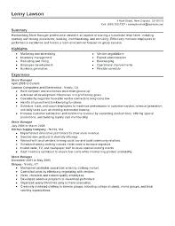 Jewelry Store Jobs Retail Operation Manager Resume Sample Awesome Operations San Diego