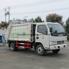100 Garbage Truck Manufacturers China Dongfeng Small Waste Compactor China