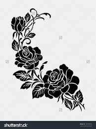 Floral Ornament Stock s Shutterstock Rose