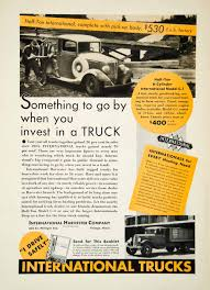 1936 Ad International Harvester Pickup Truck 606 S Michigan Ave ...
