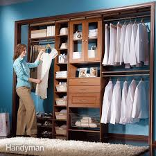 Free Closet Organizer Plans by How To Build A Wall To Wall Closet Family Handyman