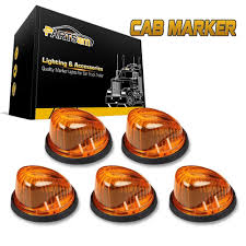 5x1313 Amber Lens Roof Cab Light Marker+ Base For 73-87 GMC C3500 ... 5pcslot Yellow Car Side Marker Light Truck Clearance Lights Cheap Rv Find Deals On Line 2008 F150 Leds Strobe All Around Youtube 1 Pcs 12v Waterproof Round Led And Trailer 212 Runningboredswithlights Ford F350 Running Board Trucklite 9057a Rectangular Signalstat Replacement Lens For Blazer Intertional 34 In Clearanceside Chevrolet Silverado 2500hd Questions Gm Roof Kit