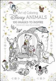 Free Art Of Coloring Disney Animals Princesses Villians 100 ImagesInspire Creativity Relaxation