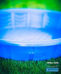 Portable Pools Make It Safe