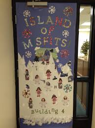 Christmas Office Door Decorating Ideas Contest by Island Of Misfits Christmas Door Decoration Contest Things I