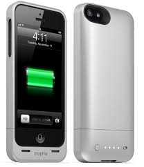 Genuine Mophie Juice Pack Helium Protective Battery Silver For