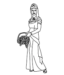Esther Coloring Page 2672