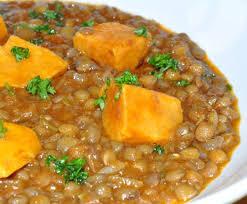 cuisine des lentilles lentilles à la marocaine les recettes de la cuisine de asmaa