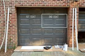 Painting Our Garage Doors A Richer Deeper Color