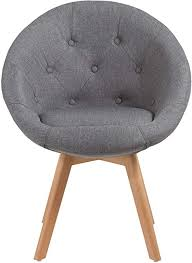 stuhl esszimmerstuhl küchenstuhl mit holzbeinen sessel retro stoffbezug farbauswahl duhome 509g farbe grau 1 material stoff