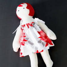 FREE Doll Dress Pattern Riley Blake Flit Bloom Blog Tour Tie