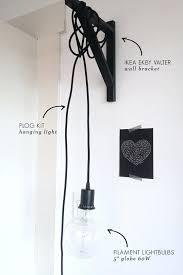 Large Hanging Lamp Ikea by Plug In Pendant Light Ikea U2013 Bailericead Com