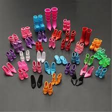 Купить Lot 40 Pairs Barbie Doll Shoes Different High на EBaycom из