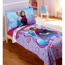 Walmart Com Bedding Sets by Disney Frozen Elsa U0026 Anna 4 Piece Toddler Bedding Set Walmart Com