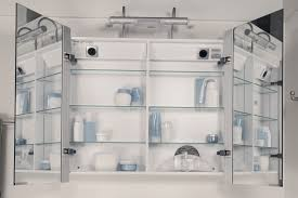 Sidler Priolo Medicine Cabinet by Sidler Axara Anodized Aluminum Mirrored Bathroom Cabinets