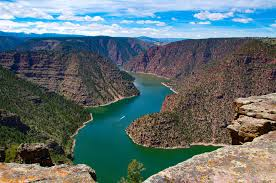 Gorge by Flaming Gorge Uintas National Scenic Byway