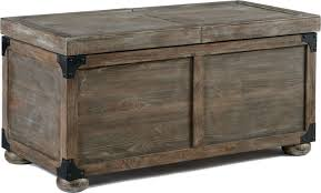 Image Of Rustic Trunk Coffee Table With Lift Top