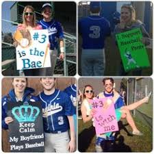 Baseball Signs For The Boyfriend