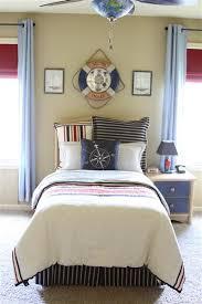 Boys Bedroom Themed Ideas Nautical Bedding