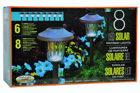 Solar Halloween Pathway Lights by Naturally Solar 8 Led Solar Pathway Lights Walmart Com