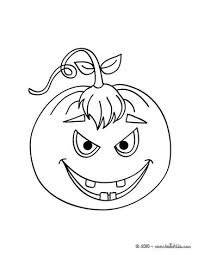 Terrific Pumpkin Coloring Page