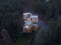100 Tree House Studio Wood Gallery Of The Qiyun Mountain Bengo 1
