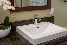 Brushed Nickel Bathroom Faucets Single Hole by Modern Master Bathroom With High Ceiling By Remodel Works Bath