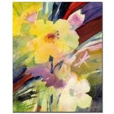 Sheila Golden Yellow Dragonfly Canvas Art