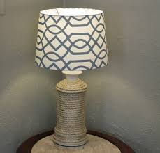 DIY Rope Lamp Base 21