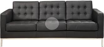 florence knoll canapé florence knoll replica 3 seater sofa black furniture gold