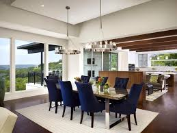 Fantastic Dining Room Blue Chairs Cool Navy Design Decor Simple On Interior Ideas