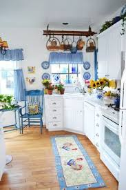 Blue And White Kitchen Well If I Didnt Already Have A Red This Would Be My Other Choiceso Pretty
