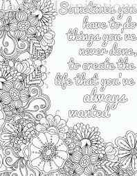 Quote Adult Coloring Page By JoenayInspirations Words