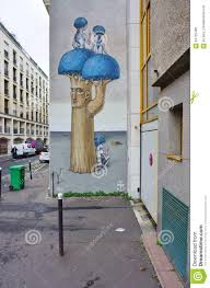 Famous Street Mural Artists by Wall Mural Painting By Famous French Street Artist Seth
