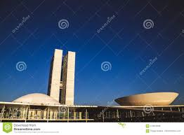 100 Where Is Brasilia Located Side View From The National Congress In Braslia Editorial