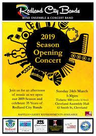 100 Redland City 2019 Opening Season Concert Bands Inc
