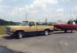 100 1972 Dodge Truck Truck With Chrysler Sport Satellite Trihull 15 Boat