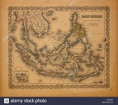 Map Of East Indies 1855