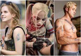 15 Best Celebrity Movie Tattoos