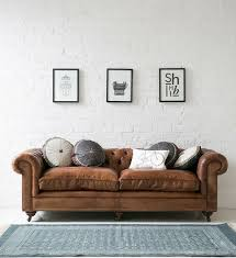 Brown Leather Sofa Living Room Ideas by Classic Sofas Home Design Ideas