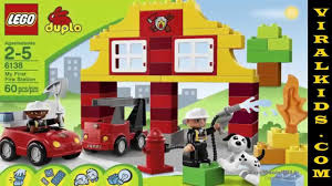 LEGO Duplo My First Fire Station 6138 - Toys Review - YouTube 124pcs Big Size Building Blocks Duplo City Fire Station Truck Lego Duplo Town 10592 Buildable Toy For 3yearolds New Fire Complete 1350 Pclick Uk 4977 Amazoncouk Toys Games At John Lewis Partners Vatro 7800134 Links Lego In Radcliffe Manchester Gumtree Macclesfield Cheshire My First 6138 Unboxing Review For Kids With Flashing Cwjoost