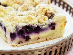blaubeer quarkkuchen mit streusel