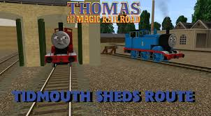 Thomas The Train Tidmouth Shed Layout by Tatmr Tidmouth Sheds Route By Enginenumber14 On Deviantart