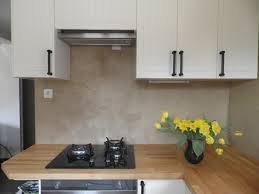 beton ciré cuisine béton ciré en crédence de cuisine