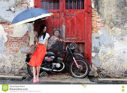 Famous Street Mural Artists by Famous Street Art Mural In George Town Penang Malaysia Editorial