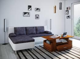 vcm couchtisch sofatisch wohnzimmertisch beistelltisch schublade wohnzimmer tisch junata kern nussbaum