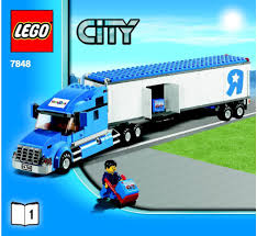 100 Lego City Tanker Truck LEGO Toys R Us Instructions 7848