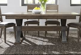 Sonoma Road Bark Extendable Trestle Dining Table