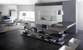Kitchen Integrated In Living Room